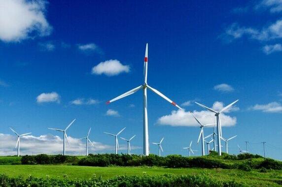 再生可能エネルギーでCO2削減!(写真はイメージ)