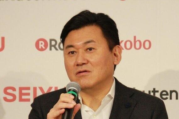三木谷浩史会長兼CEOは猛反発!(写真は2018年1月撮影)