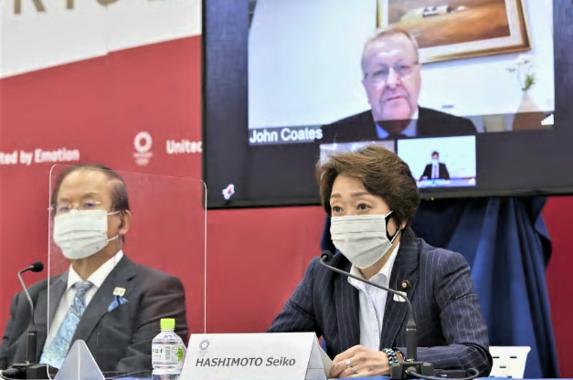 「緊急事態宣言下でも開催する」と断言したIOCのコーツ副会長(東京五輪組織委の公式サイトより)