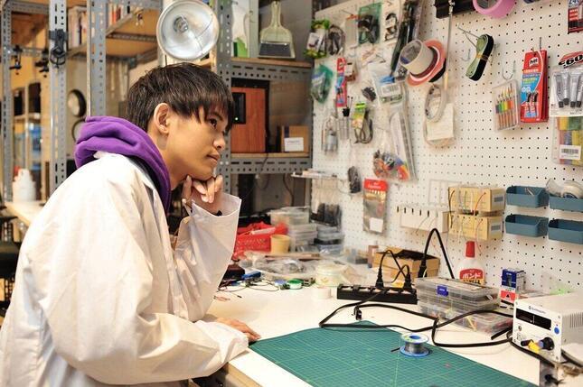 12歳で起業した、加藤路瑛さん(画像は加藤さん提供)