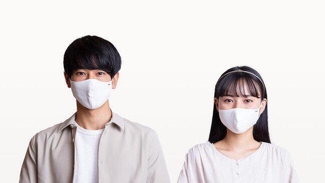 世界最高水準のナノファイバーフィルターを使った「分子マスク」
