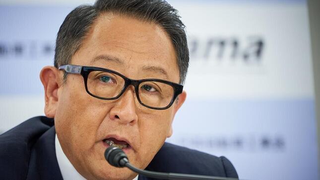 トヨタ自動車株を買った!(写真は、豊田章夫社長。2021年6月3日の日本自動車工業会のオンライン会見より)