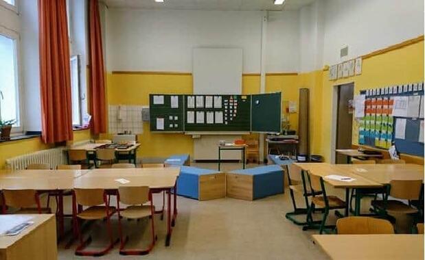 学校は夏休み直前までロックダウンで閉められていた(筆者撮影)