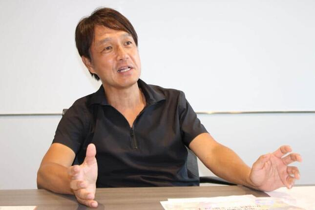 ディップ執行役員DX事業本部本部長の三浦日出樹氏