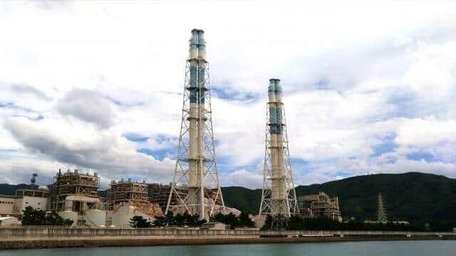 石炭火力とアンモニアを「混焼」してCO2を削減(写真はイメージ)