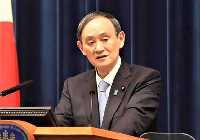 「東京五輪は成功した」と豪語しながら支持率が最低となった菅義偉首相