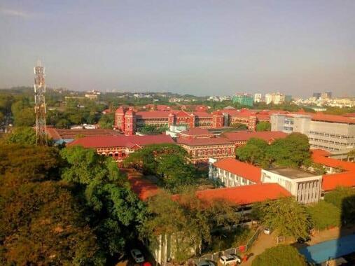 ミャンマーの軍事クーデターから半年が経った(写真は、最大都市のヤンゴンの街並み)