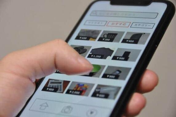 フリマアプリの「メルカリ」が好調、黒字決算(写真はイメージ)