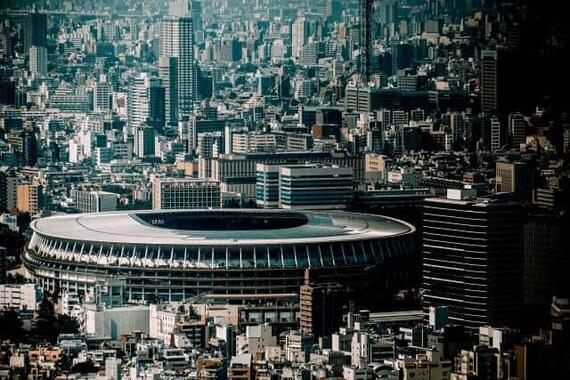 TOKYO2020のために建て替えた新国立競技場