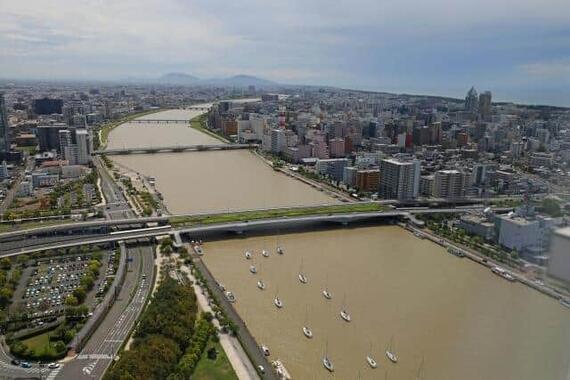 「治水の名言」が現代に伝えることとは……(写真は、新潟市内を流れる信濃川)