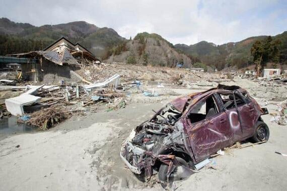 約2万人もの死者を出した東日本大震災(写真は、岩手県山田町)