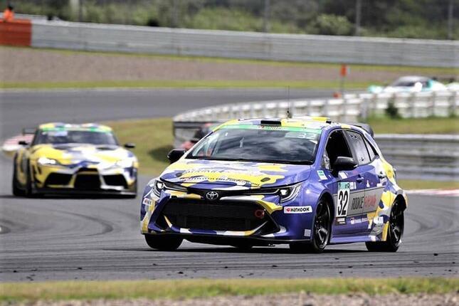 耐久レースに出る水素エンジン搭載のトヨタカローラ(公式サイトのトヨタイズムより)