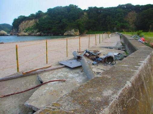 東日本大震災では津波の被害が大きかった(写真は、宮城県東松島市)