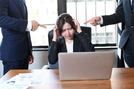 「ちゃんと真面目に仕事してるのか!?」と上司に叱責されて……(写真はイメージ)