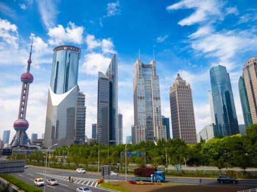 中国で不動産バブルが崩壊!?(写真は中国・上海)