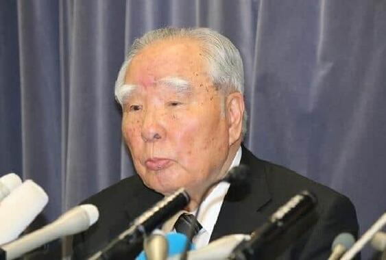 御年91歳。経営トップに君臨40年超。スズキの鈴木修会長が引退(写真は2016年5月撮影)
