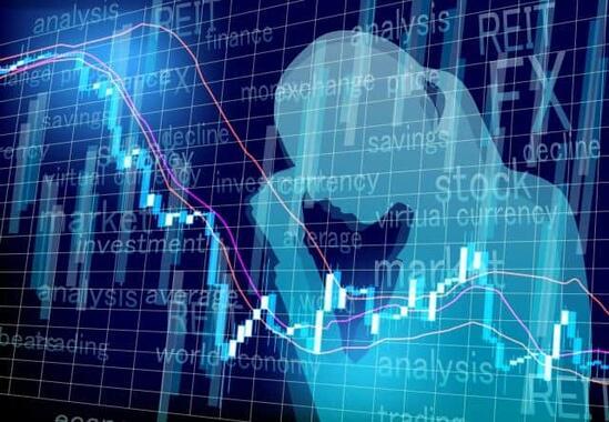 株価が下落基調に……