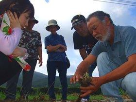 秀一さんを始めとする宮崎の農家の人たちは、三輪と一緒に「元気野菜」を追求してきた