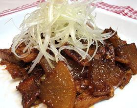 ビタミンCもたっぷり取れる「大根と豚肉のピリ辛炒め」