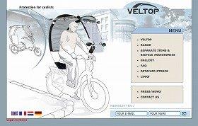 自転車を屋根付きにする画期的なVELTOP