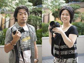 「ウェディングフォトグラファーという存在をもっと知ってもらいたい」という安澤剛直さん(左)と曽根川晶子さん