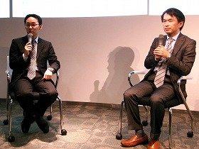 講師の高城氏(右)と仁木氏
