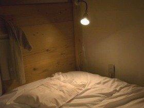 間接照明も良い眠りには効果的らしい