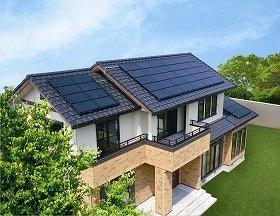 2007年度グッドデザイン賞も受賞した「CIS型」太陽光発電システム