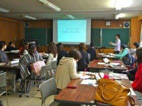 シブヤ大学で「コワーキング」について学ぶ熱心な受講者たち