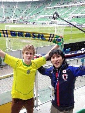 先週は日本代表対ブラジル代表の試合を観にポーランドに行っていました