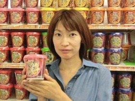 「女性ならではの商品開発の視点を活かしたかった」という商品開発グループ主任の金谷美香さん(入社8年目)