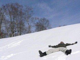 私にとってスキーとは悠々自適な遊びなのでスキルアップは目指してません(森山)