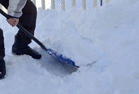 雪の影響で…