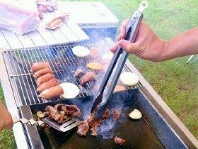 内定学生さま、お肉が焼けました...