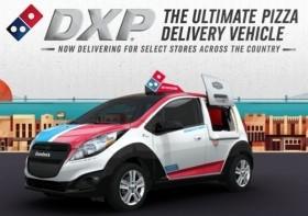 ピザデリバリー専用車「Domino's DXP」