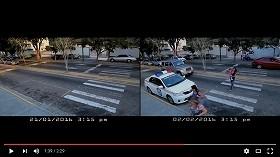 治安最悪カラカスで廃車パトカーが現役復帰 カメラは効果歴然たる様を