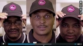 帽子の「穴」に注目