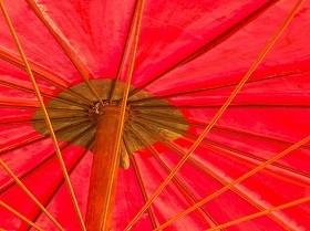 男の日傘、黒ばかりにあらず