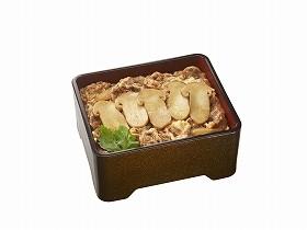 半世紀ぶりに復活する「松茸牛丼」