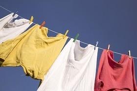 一気に洗濯して、傷んだ物は部屋着に仕分け
