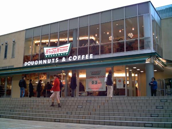 上陸から10年、1号店を閉店 クリスピー・クリーム・ドーナツ