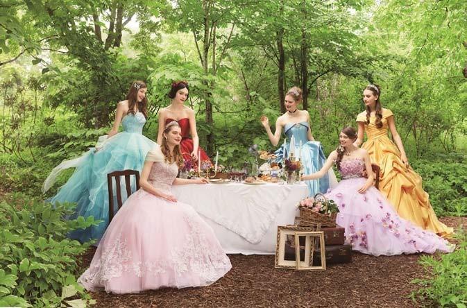 ディズニー公認のウェディングドレス 「将来着るなら絶対これ!」と女性歓喜