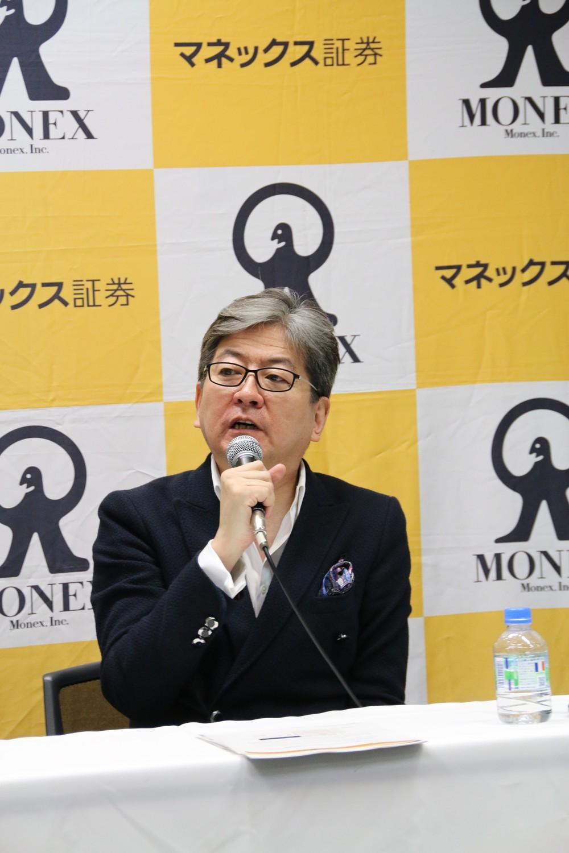 マネックス証券の松本大社長