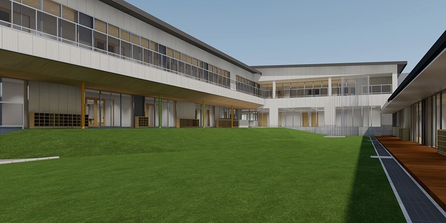 トヨタの事業所内託児施設「ぶぅぶフォレスト」(画像は、園庭イメージ)