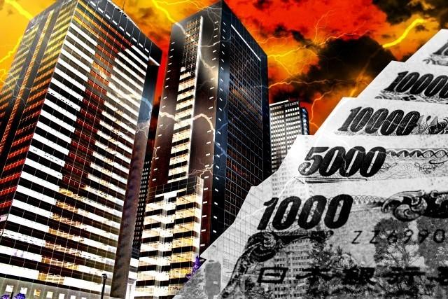 不正で倒産する企業が増加