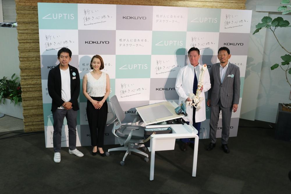怖い「デスクワーク症候群」は姿勢の乱れから キリっと美しい田中理恵さんも納得の机がこれ!