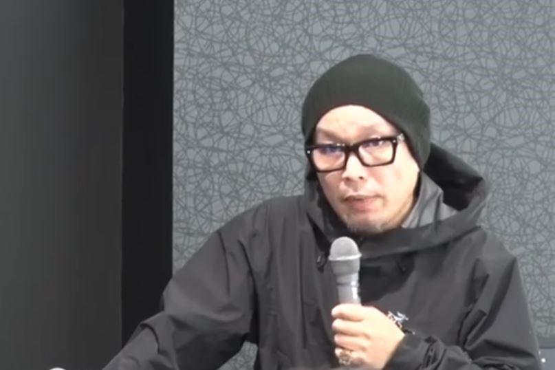 セミナーで熱弁をふるう長谷川大雲さん