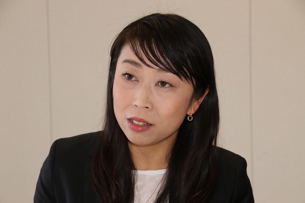 「個人投資家の裾野を広げたい」と語る清明社長
