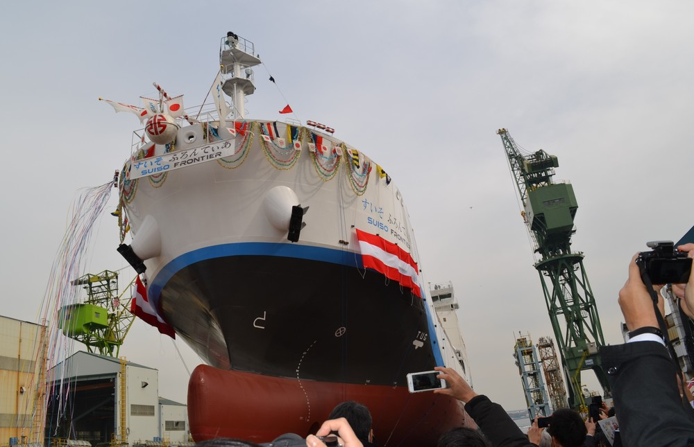 クリーンな次世代エネルギー「水素」の利用に弾み 世界初の海上大型運搬船がお目見え