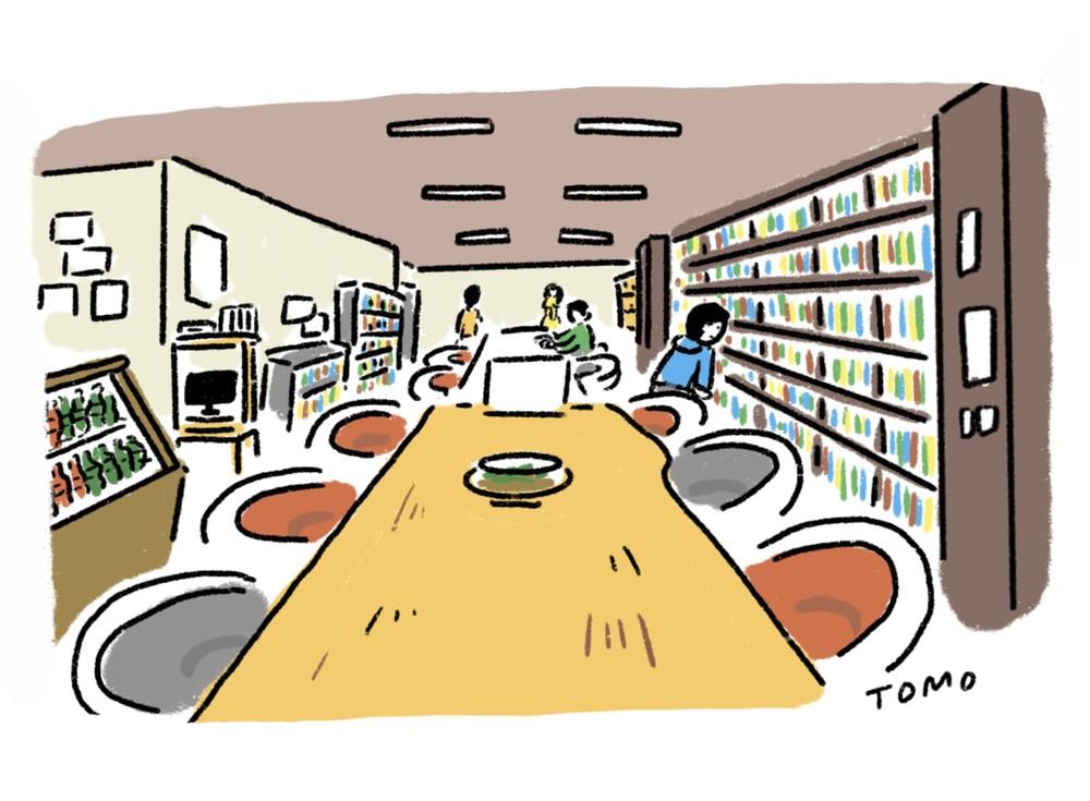 @ワンダーで本を選んで、「ブックカフェ二十世紀」で一服